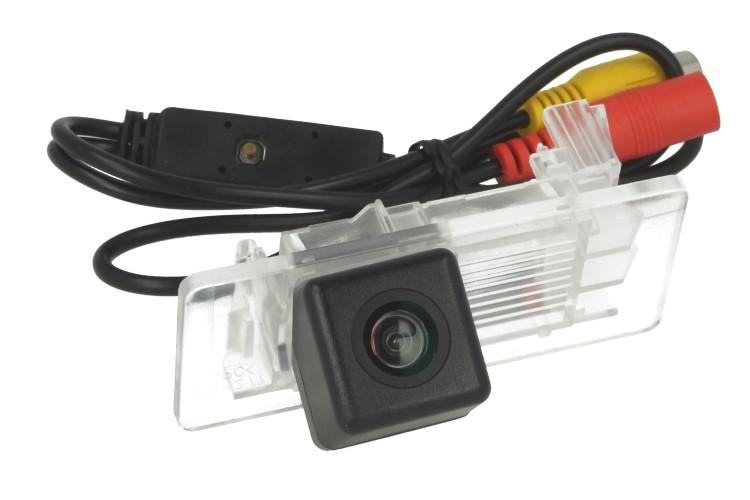 Telecamera Posteriore Per Luce Targa Specifica VW Passat Lavida 2011-2013 Linea Guida Effetto Specchio Selezionabile - KIT