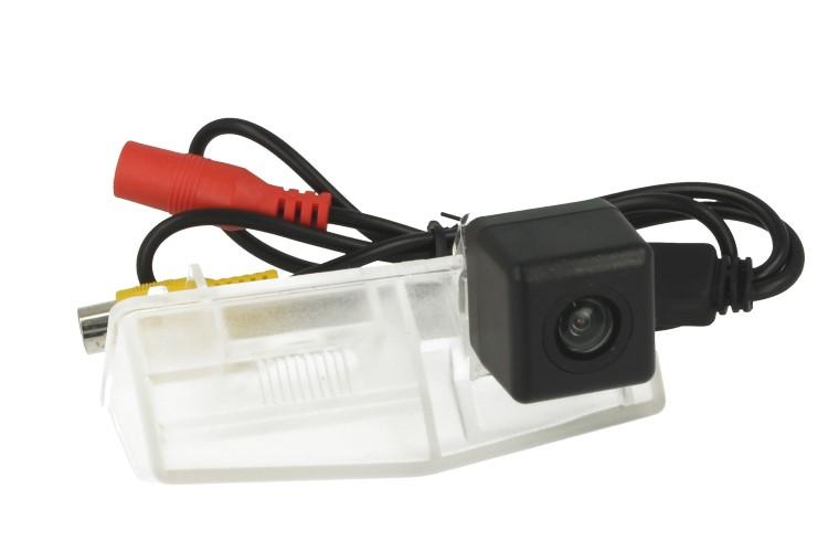 Telecamera Posteriore Per Luce Targa Specifica Toyota RAV4 2014 Linea Guida Effetto Specchio Selezionabile - KIT