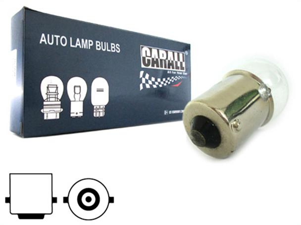 10 Pezzi Lampada Alogena Sferica G18,5 BA15S 12V 10W R10W - Confezione