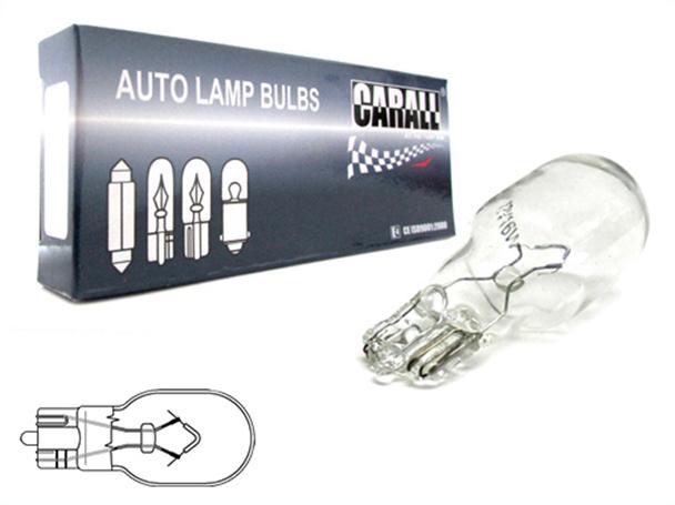 10 Pezzi Lampada Alogena T15 W16W 12V 16W Wedge Tutto Vetro - Confezione