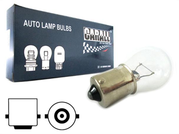 10 Pezzi Lampada Alogena S25 P21W BA15S 12V 21W Singolo Filamento - Confezione