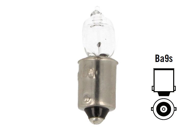 Lampada Alogena Auto H10W BA9s 12V 10W Bulb Piedi Diritti LLB433A 64113 Per Luce Lettura Interna - PZ