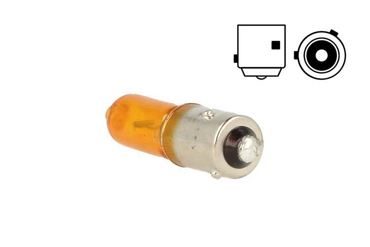 Lampada Alogena Micro Auto H21 BAW9s HY21W 12V 21W Arancione Amber Piedini Sfalsati Per Frecce Citroen DS5 - PZ