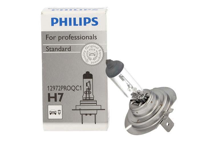 Lampada H7 12V 55W PX26d Philips Originale Standard 12972 PROQC1 82996260 Per Auto Moto - PZ