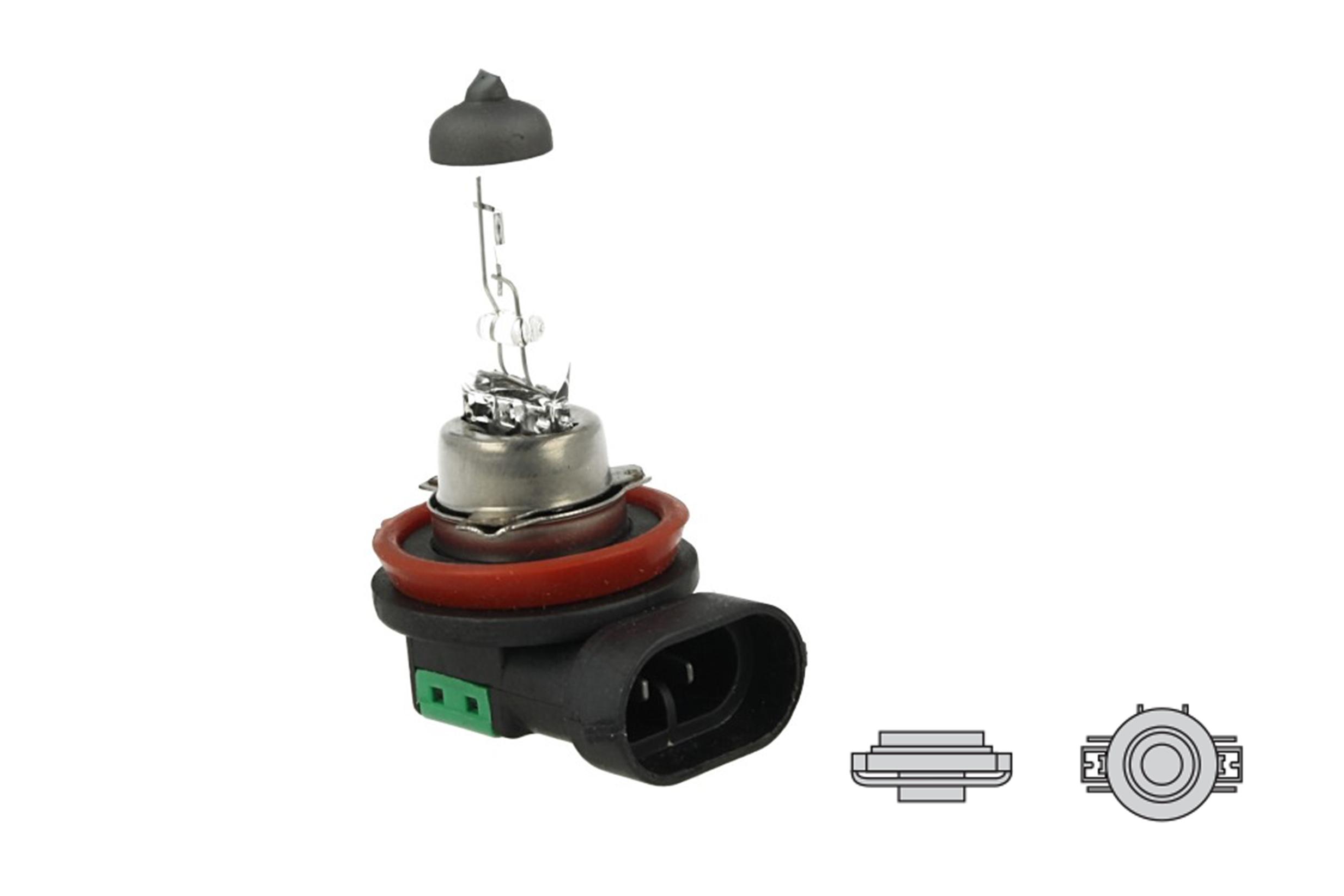 Lampada Alogena H16 12V 19W PGJ19-3 Clear Compatibile Osram OA64219L Per Renault Capture - PZ