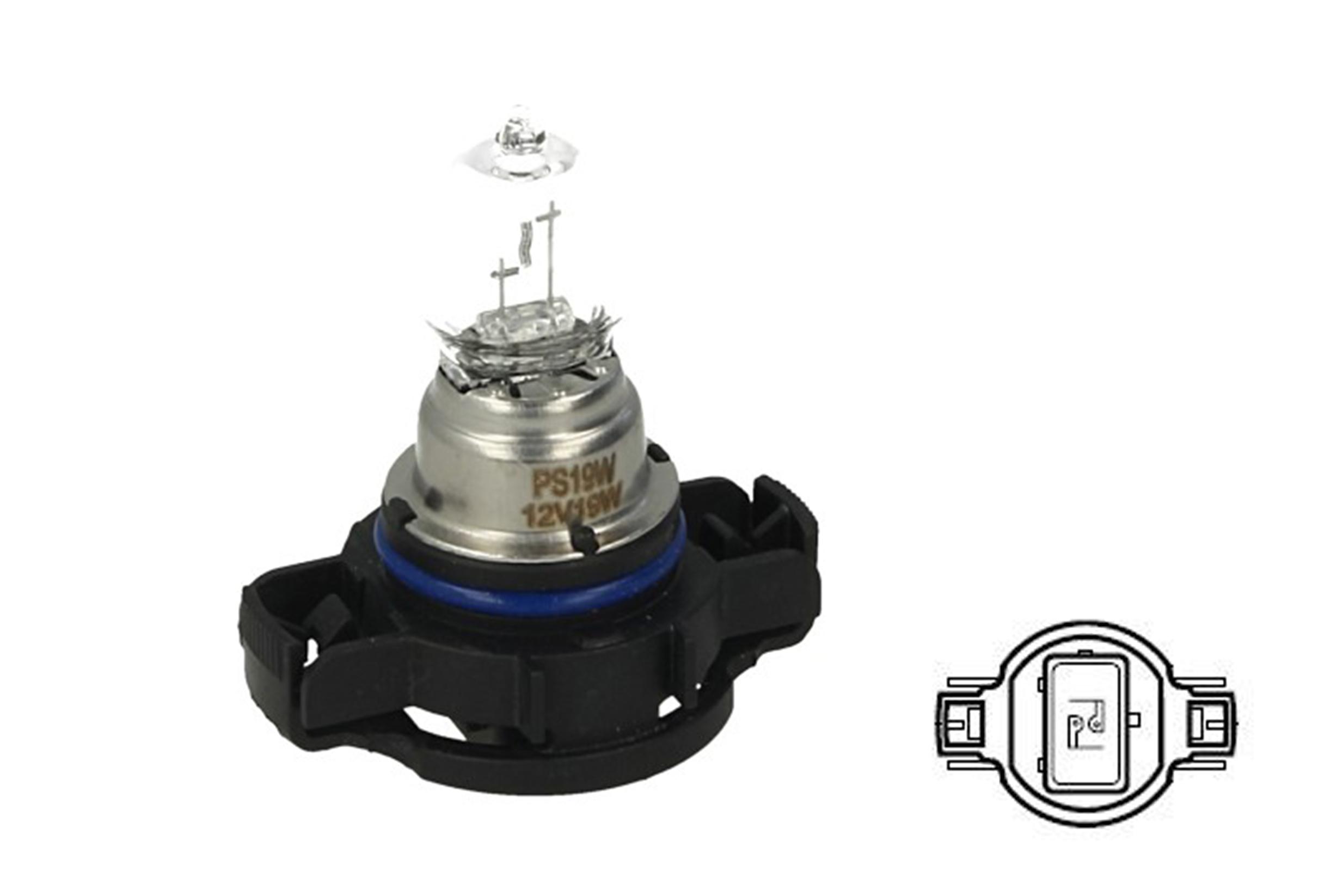 Lampada Alogena PS19W 12V 19W PG20-1 Clear Compatibile Philips 12085LL C1 - PZ