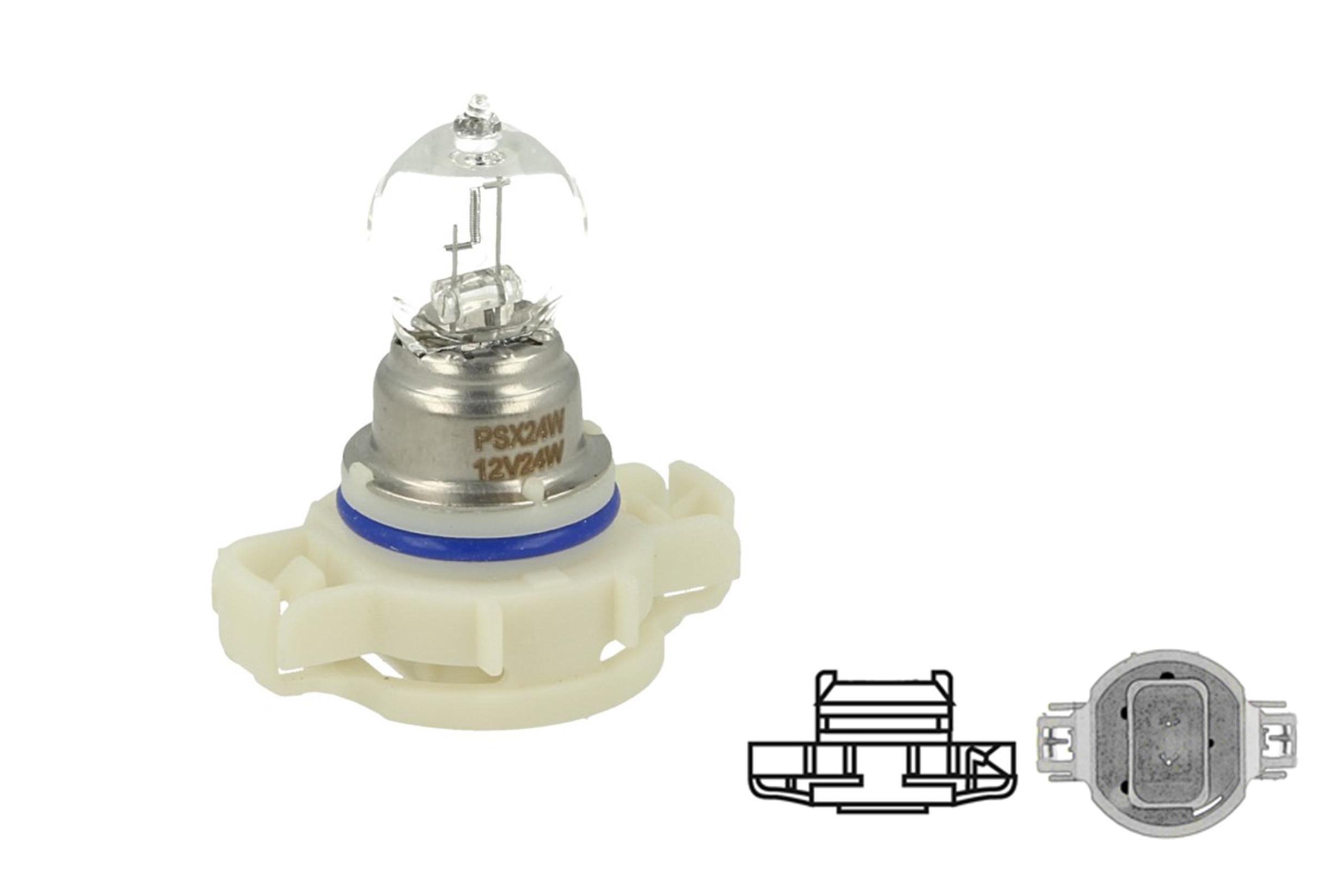 Lampada Alogena PS24W FF 12V 24W PG20-3 Clear Compatibile Philips 12086FF C1 - PZ