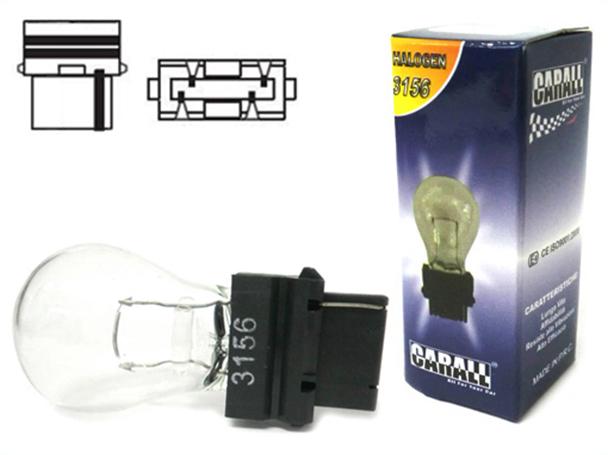 Lampada Alogena 3156 Clear T25 P27W 12V 27W W2.5x16d Mono Filamento - PZ