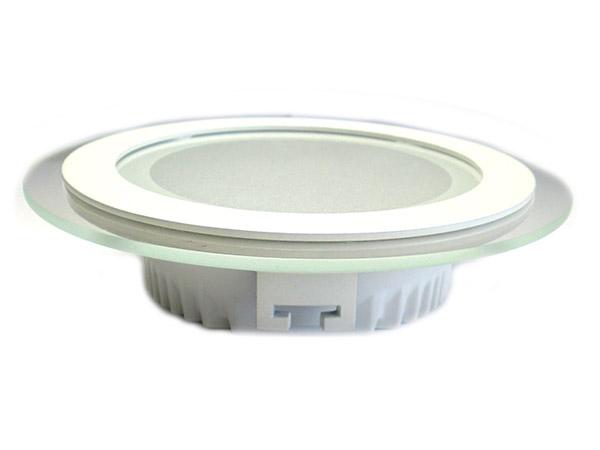 Faretto Led Da Incasso Rotondo 6W Diametro 100mm Bianco Naturale Con Vetro Design Moderno SKU-6277 - PZ