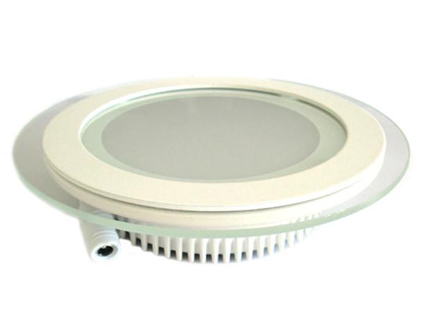 Faretto Led Da Incasso Rotondo 12W Diametro 160mm Bianco Neutro 4300K Con Vetro Stile Moderno SKU-6279 - PZ