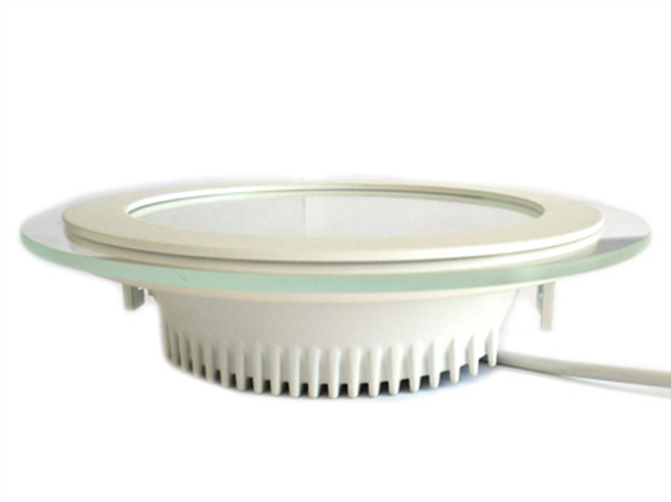 Faretto Led Da Incasso Rotondo 18W Diametro 200mm Bianco Caldo Con Vetro Moderno Design SKU-4760 - PZ