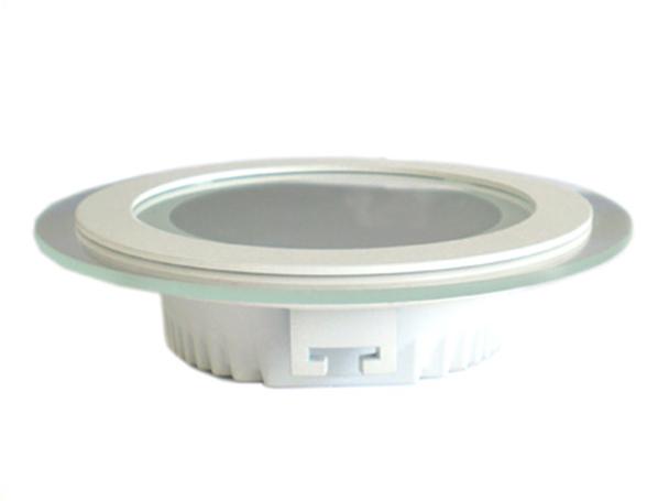 Faretto Led Da Incasso Rotondo 18W Diametro 200mm Bianco Puro Solare 4300K Con Vetro Moderno SKU-6281 - PZ