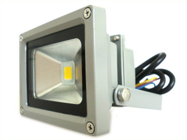 Faro A Led Da Esterno IP65 Bianco Caldo 220V 10W = 95W Led Flood Light - KIT