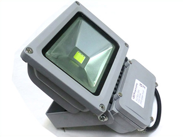 Faro Proiettore A Led Esterno IP65 220V 15W = 140W Bianco Puro - KIT