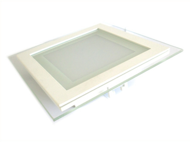 Faretto Led Da Incasso Quadrato 6W Bianco Caldo Con Vetro Modern Style Per Bagno Soggiorno SKU-4738 - PZ