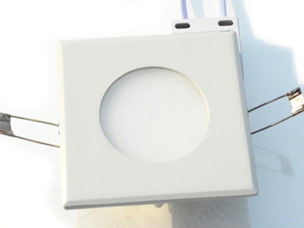 Pannello Led Plafoniera Faretto Incasso Da Soffitto Quadrato Bianco Caldo 220V 12W - PZ
