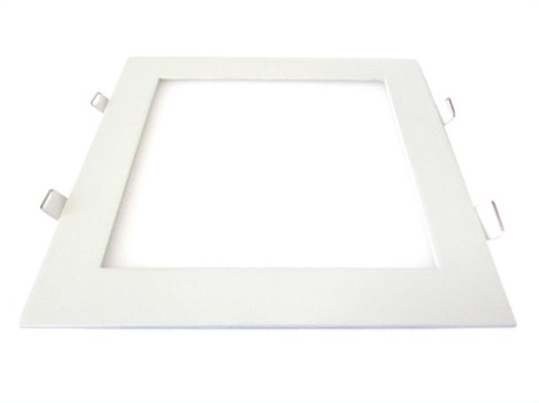 Pannello Led Plafoniera Faretto Incasso Da Soffitto Bianco Naturale 18W Quadrato 200X200mm 96 Smd 2835 - PZ