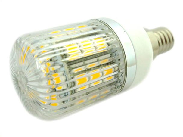 Lampada LED E14 12V 24V 4W=35W Bianco Caldo 27 SMD 5050 Per Cimitero Segnalazione - PZ