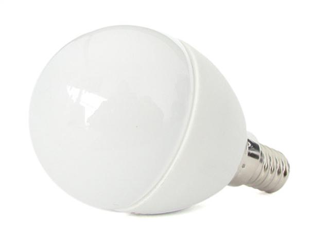 Lampada A Led E14 P45 6W Bianco Neutro Forma Sfera Bulbo Pallina 240 Gradi 220V SKU-169 - PZ