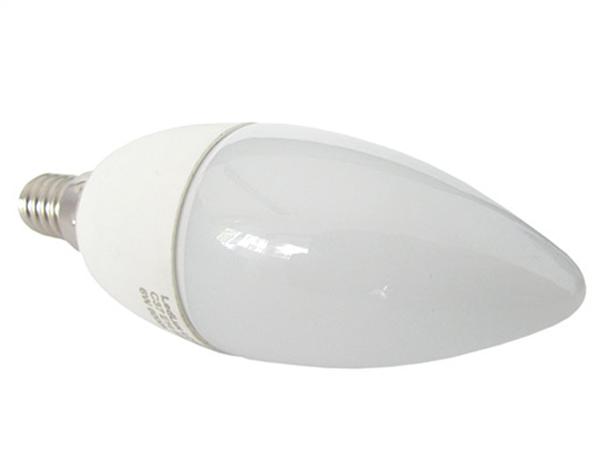 Lampada A Led E14 C37 6W Bianco Caldo Forma Goccia Oliva Candela 240 Gradi 220V SKU-171 - PZ