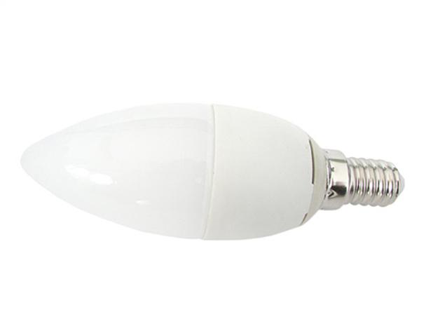 Lampada A Led E14 C37 6W Bianco Naturale Forma Goccia Oliva Candela 240 Gradi 220V SKU-172 - PZ
