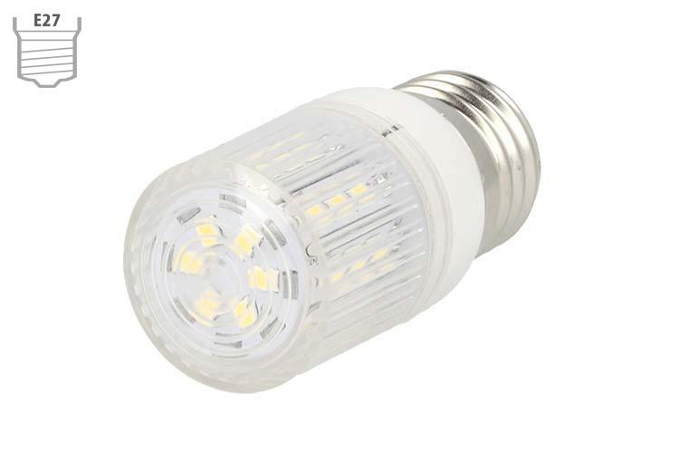 Lampada LED E27 12V 24V 4W Bianco Naturale - PZ