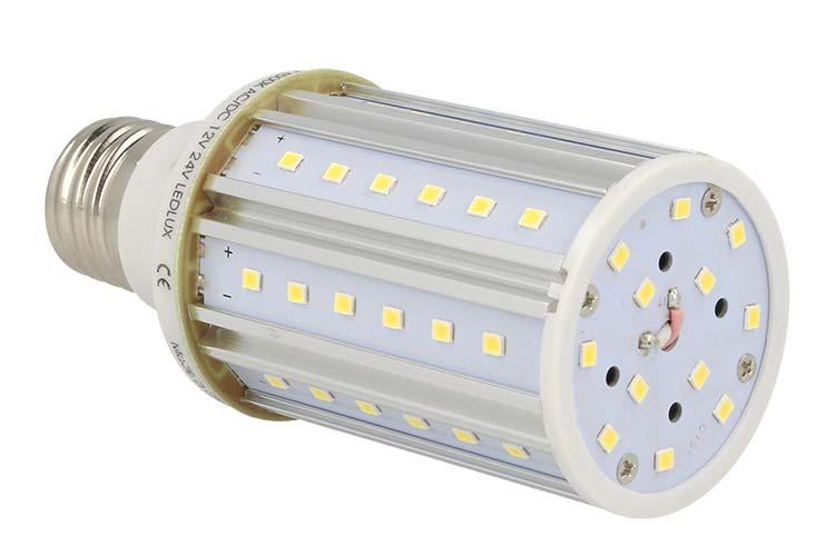 Lampada LED E27 AC/DC 12V 24V 10W Bianco Neutro Per Officina - PZ