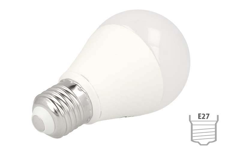 Lampada Led E27 A60 Bulbo 9W=80W 220V Bianco Neutro SKU-229 - PZ