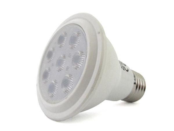Lampada Faretto Led Spot E27 PAR20 R63 8W Bianco Caldo 220V 8 Smd 3020 Angolo 36 Gradi SKU-147 - PZ