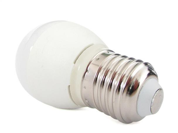 Lampada A Led E27 G45 5,5W Bianco Neutro Forma Sfera Bulbo Palla 240 Gradi 220V SKU-175 - PZ