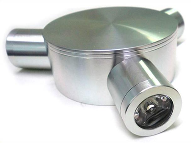 Applique Lampada Da Parete Power Led Bianco Freddo 3W 220V 3 Punti Luci - PZ