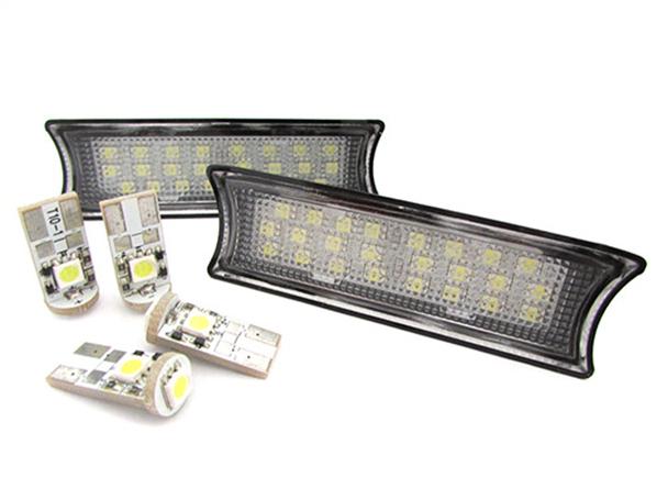 Kit Plafoniera Luci Led Di Cortesia Lettura BMW E90 E91 E92 4 Lampade Led T10 Canbus Incluso - KIT