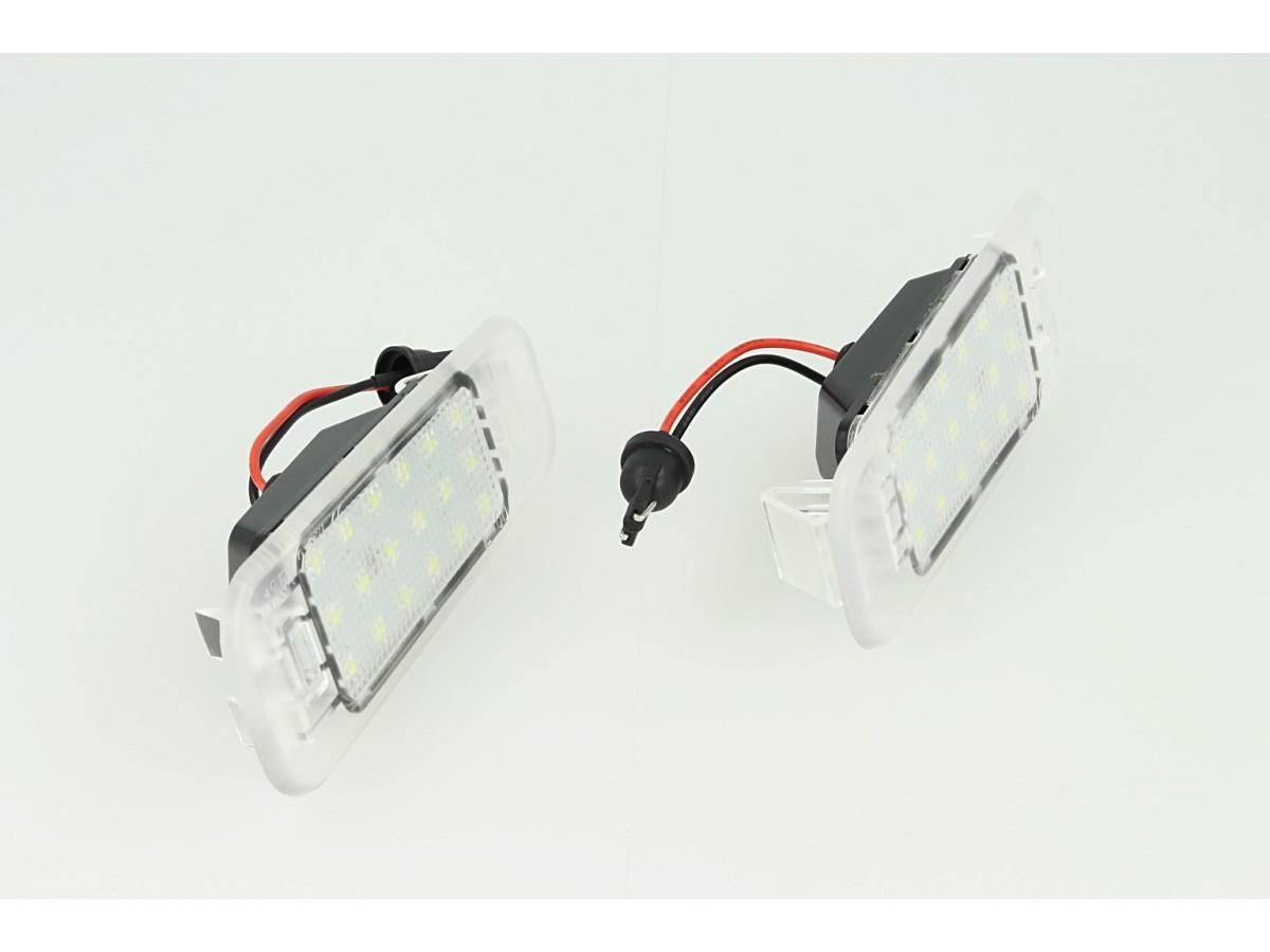 Kit Luci Targa Led Kia K2 Canbus No Errore Bianco 12V 2W - KIT