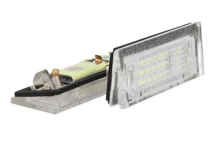 Kit Luci Targa Led BMW E39 5D Parts N. 51138236878 Bianco No Errore Canbus - KIT