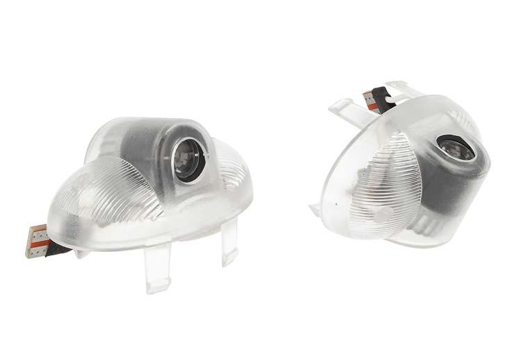 Kit Luci Led Logo Proiettori Auto Portiere Mazda 8 Senza Modifica Plug & Play - KIT
