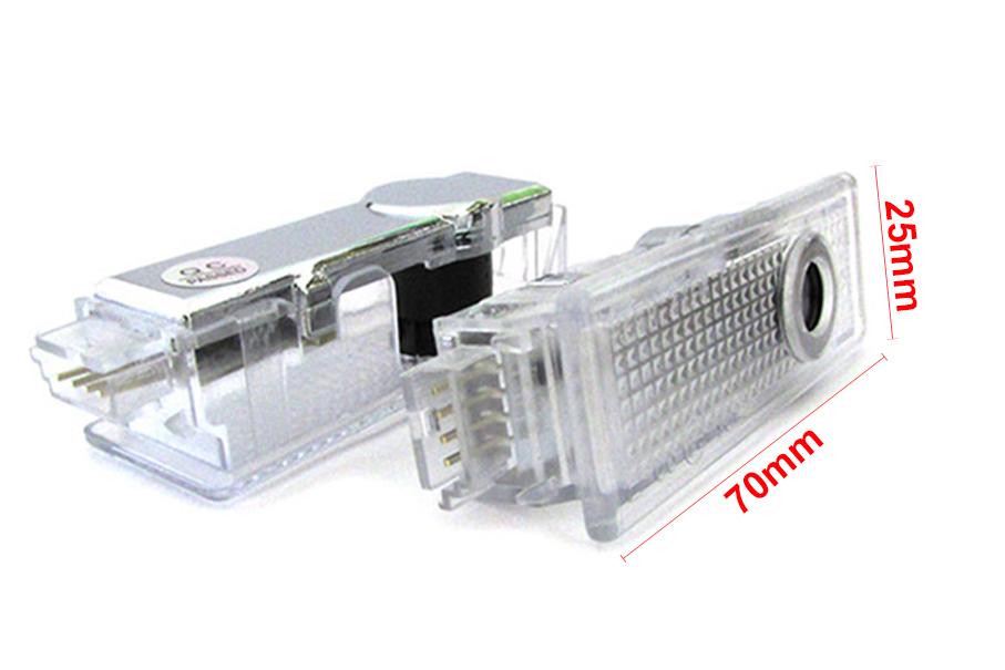 Kit Luci Led Logo Proiettori Auto Portiere Per Mini F55 F56 F60 Plug & Play Senza Modifica - KIT