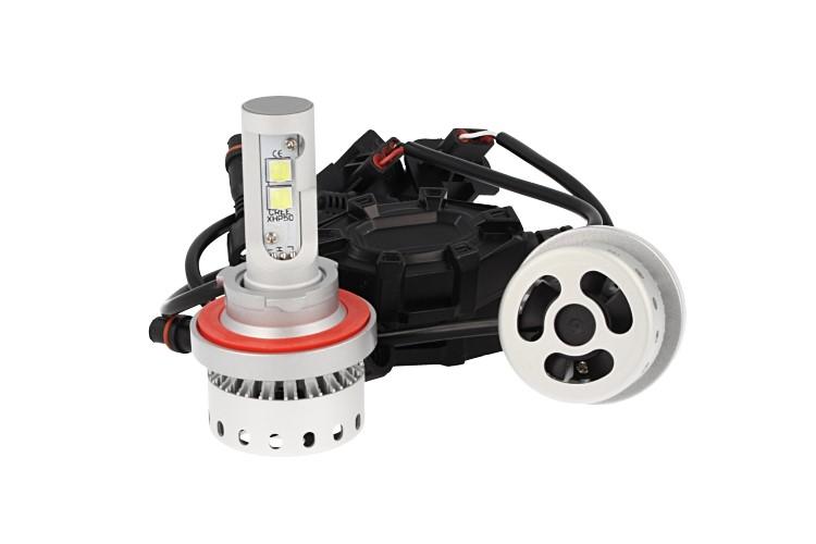 Kit Full Led Canbus H13 40/40W 5000 Lumens Con Ventilatore 12V 24V 4 Cree XHP 50 - KIT