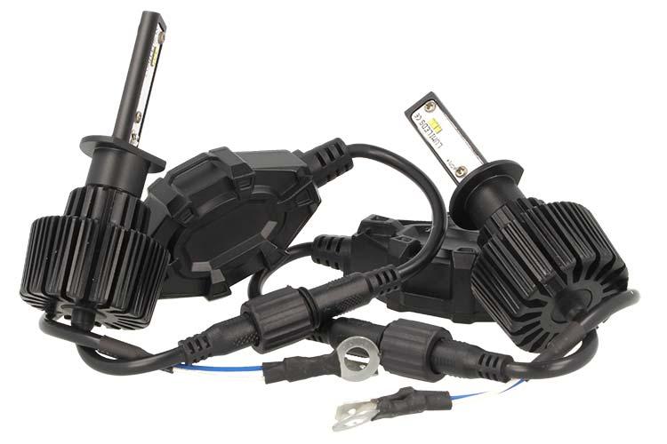 Kit Led H1 6000K 60W 12V 24V Headlight Canbus - KIT