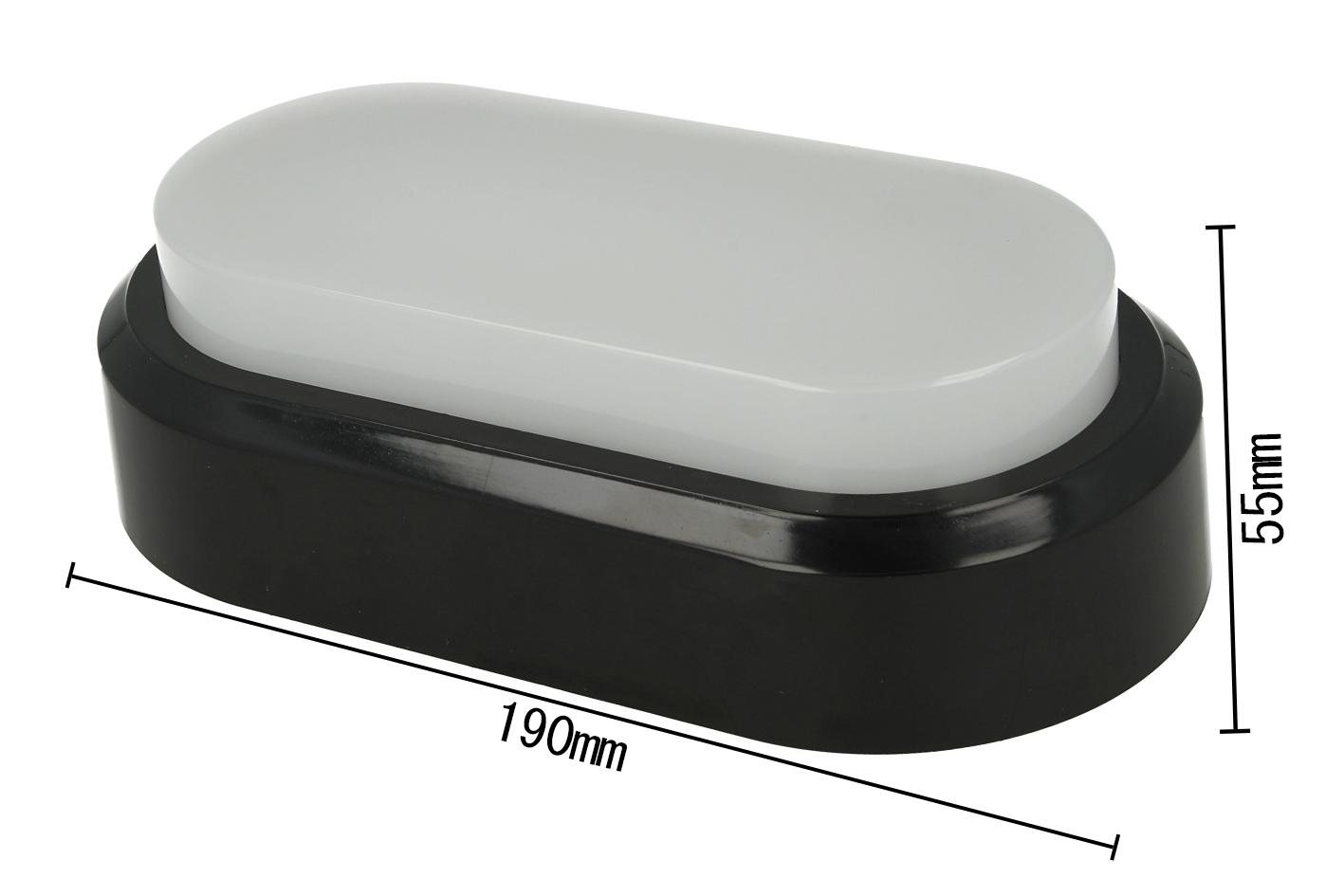 Plafoniere Rettangolari Da Parete : Flux plafoniera led applique da parete soffitto ovale rettangolare