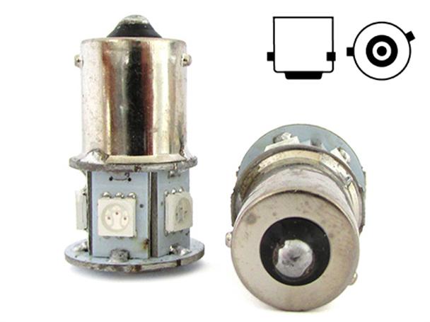 LS1579-LAMPE-LED-RY5W-RY10W-BAU15S-12V-ORANGE-JAUNE-POUR-LUMIERES-CLIGNOTANTS
