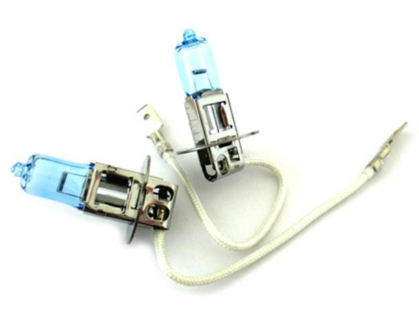 Lampada H3 12V 55W PK22s Con Effetto XENON Bianco - PAIO