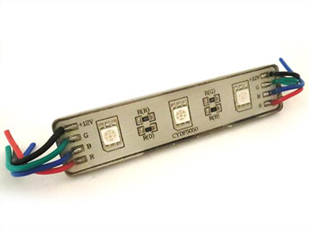 A2ZWORLD MODULO MATTONE LED 2 SMD 5050 COLORE ROSSO 12V IMPERMEABILE PER INSEGNA