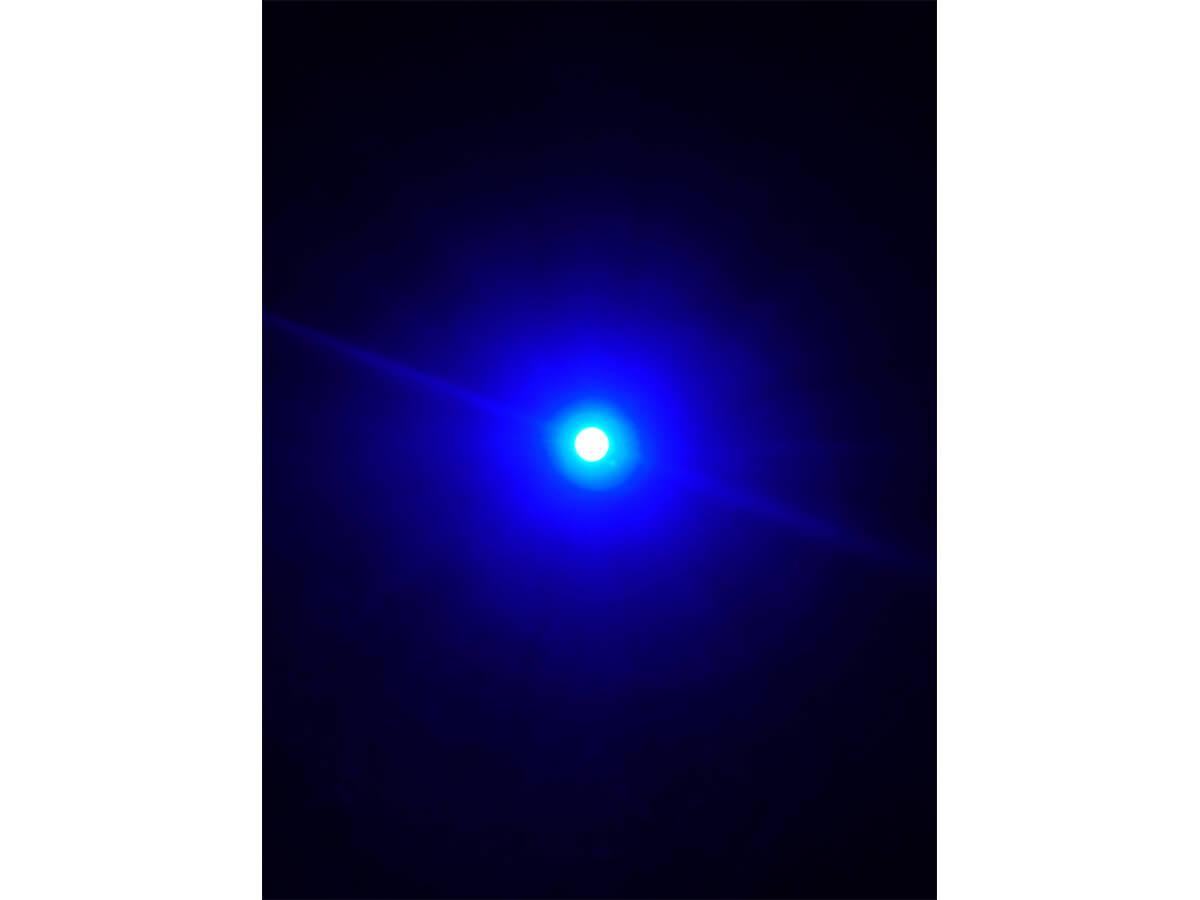 10 Pezzi Micro Mini Lampada Led Con Filo 6V Smd 3528 Colore Blue Luci Spia Per M