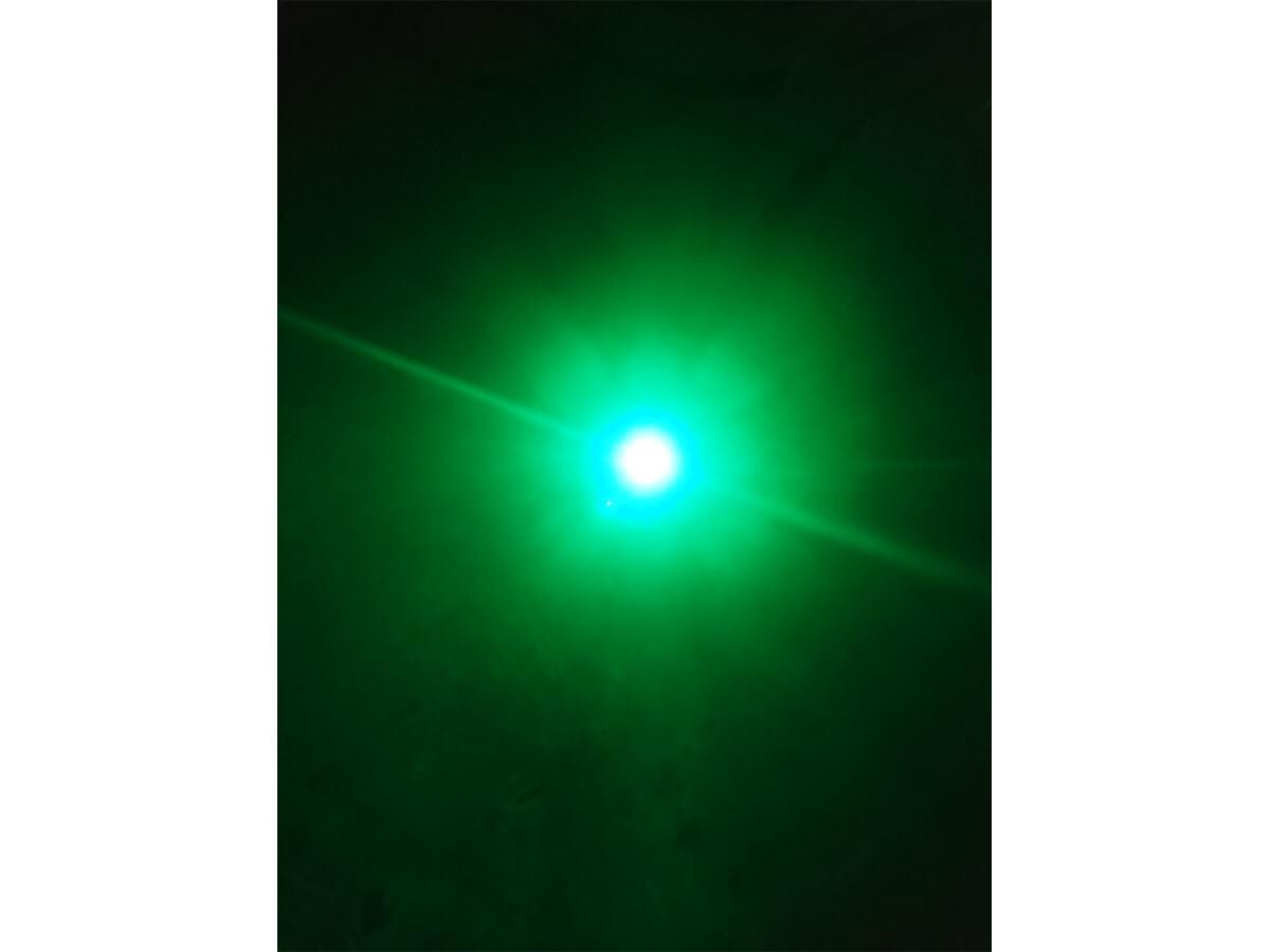10 Pezzi Micro Mini Lampada Led Con Filo 24V Smd 3528 Colore Verde Luci Spia Per