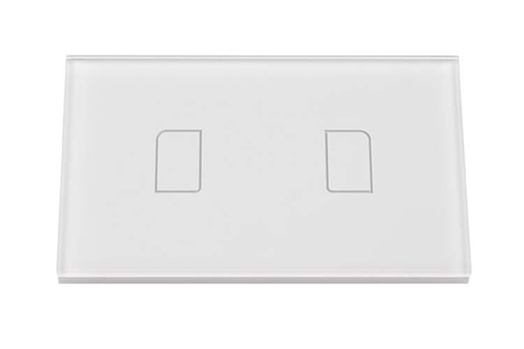Touch Panel Controller Interruttore Smart Home Domotico Per Scatola 503 Con 2 Posizioni Wireless Design Moderno - KIT