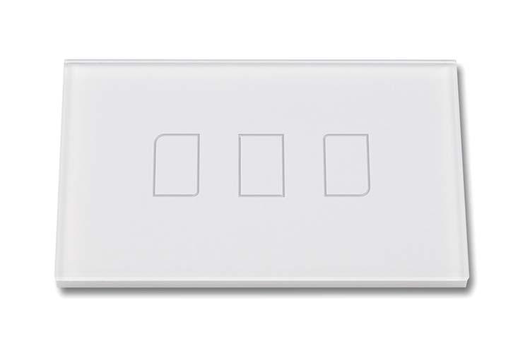 Touch Panel Controller Interruttore Smart Home Domotico Per Scatola 503 Con 3 Posizioni Wireless RF433MHz - KIT