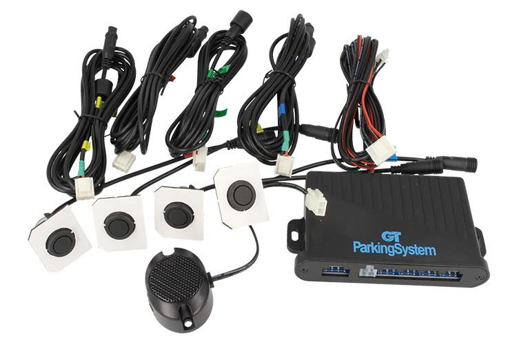 Kit Sensore Di Parcheggio Posteriore GT Auto Sensor Packing System PSF con Buzzer Cicalino e 4 Capsule US - KIT