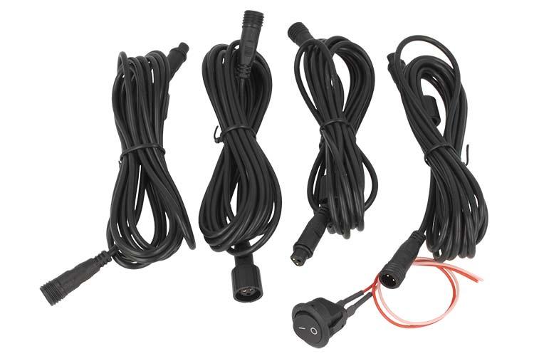 Kit Per Installazione Sensori Anteriore 4 Prolunghe + interruttore - KIT