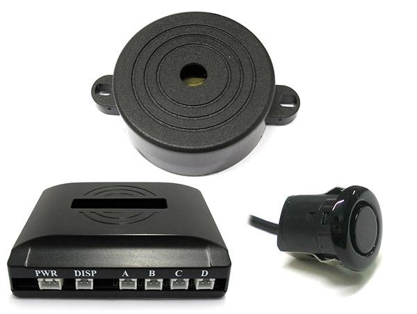 Kit 4 Sensore di Parcheggio Staccabile 18mm Slim Cicalino Acustico SB-301S-4-18mm - KIT