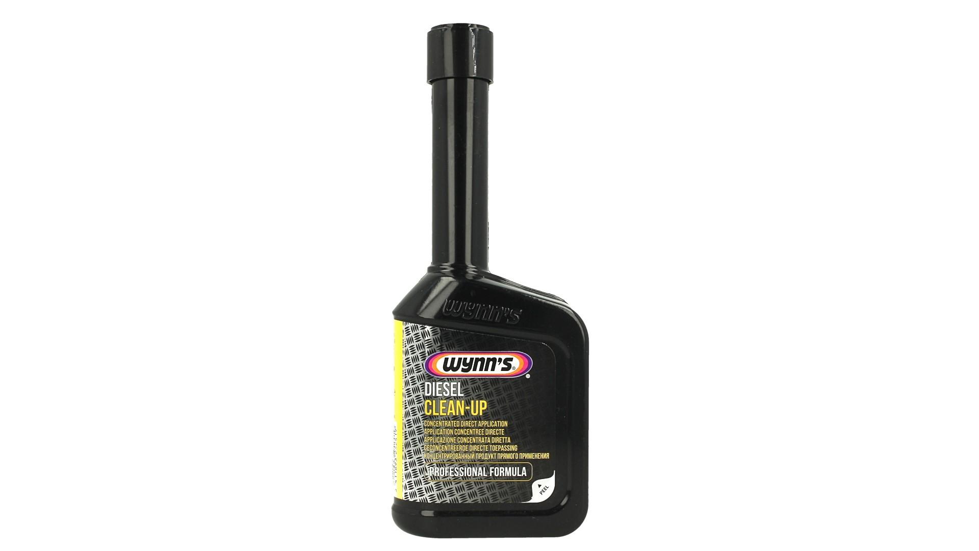 Wynns Diesel Clean Up Pulitore Pompa Iniettori Tubazioni Riduce Fumo e Emissione 325ml - PZ